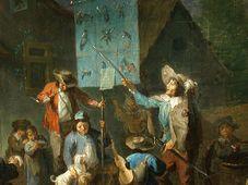 Zpívání kramářské písně na nizozemské malbě ze 17. - 18. století - Foto: Wikimedia Commons CC-BY-3.0