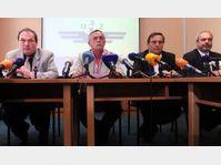 Les représentants des syndicats, photo: CTK