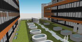 Visualisation of RECETOX biobank building, photo: CTK