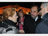 Jan Kohout s'est rendu jeudi soir sur la place de l'Indépendance, photo: CTK