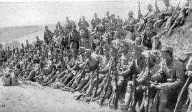 Österreichische Truppen (Foto: Public Domain)
