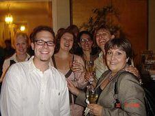 Michael Hugo Rosak and his AFS-volunteer colleagues