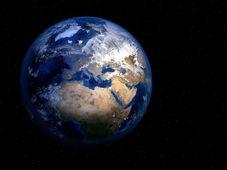 Erdkugel - zeměkoule (Foto: PIRO4D, Pixabay / CC0)