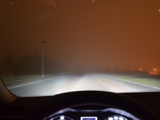 Ограничение видения в темноте и тумане, фото: ВУТ Брно