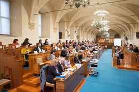 Le Sénat tchèque accueillait une conférence dédiée aux communautés tchèques établies à l'étranger, photo: Site officiel du Sénat tchèque