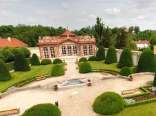 Сад Чернинского дворца (Фото: Архив Министерства иностранных дел ЧР)
