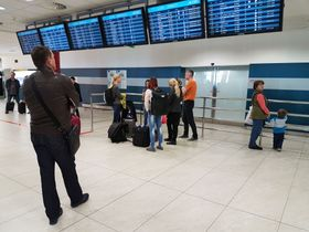Aéroport Václav Havel, photo : Ondřej Tomšů
