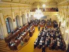 Czech lower house of parliament, photo: Filip Jandourek