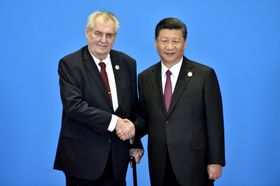 Miloš Zeman und Xi Jinping (Foto: ČTK)