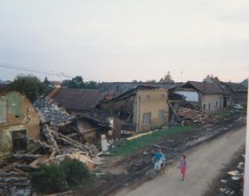 Troubky after the floods in 1997, photo: Ladislav Svoboda, CC BY 3.0