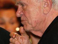 Milan Kundera, photo: Jan Šmíd