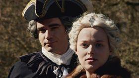 Vojtěch Kotek as František Štěpán Lotrinský, Marie-Luise Stockinger as Maria Theresa, photo: Czech Television