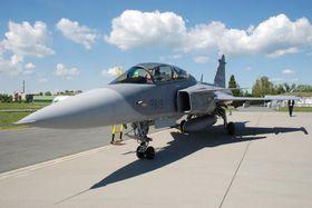 JAS-39 Gripen, Фото: Архив Правительства ЧР