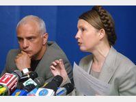 Youlia Timochenko et son mari Alexandre en 2002, photo: CTK
