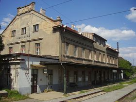 Ehemaliger Bahnhof Prag-Bubny (Foto: Jan Groh, Wikimedia CC BY 3.0)
