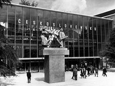The Czechoslovak pavilion, photo: CTK