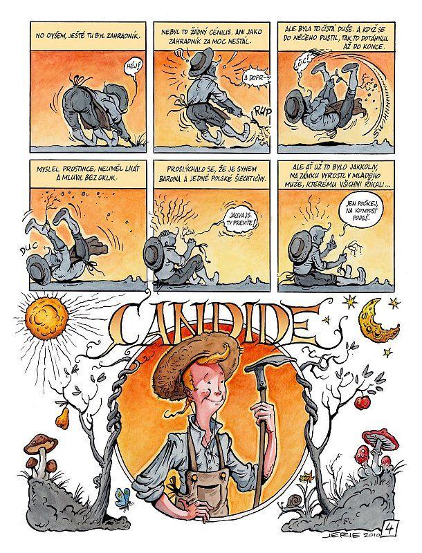 Voltaire au pays de la fantasy radio prague for Candide cultiver son jardin
