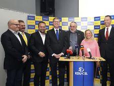 Christian Democrats representatives, photo: CTK