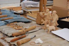 Dřevořezání, photo: Site officiel de Spolek přátel betlémů v Třešti