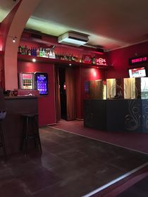 Interior of Club 777 - the gaming machines are in the back, photo: Ian Willoughby