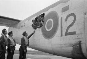 Czechoslovak aviators in RAF, photo: Public Domain