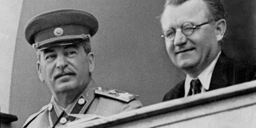 Josif Vissarionovič Stalin, Klement Gottwald, foto: ČT