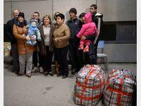 Les Ukrainiens d'origine tchèque sont arrivés à Prague, photo: ČTK