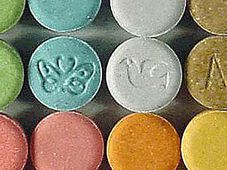Ecstasy tablets, photo: Public Domain