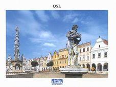 Telč, Tarjeta QSL de 2002