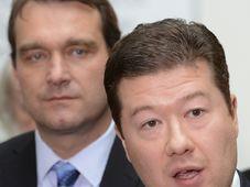 Robert Fiala et Tomio Okamura, photo: ČTK