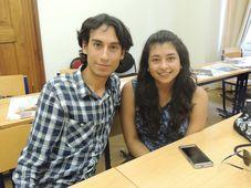 Luis Alfonso Sabanero y Diana Patricia Corona, foto: Julia Rios