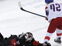 Les hockeyeurs tchèques ont remporté leurs trois matchs de poule avec notamment une victoire sur les Canadiens, photo: ČTK