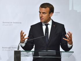 Emmanuel Macron, phto: ČTK