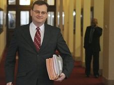Premiér Petr Nečas, foto: ČTK