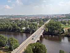 Libeň Bridge, photo: KarelJ, Public Domain