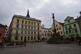 Hauptplatz von Krumau (Foto: Ondřej Tomšů)