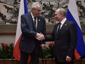 Miloš Zeman und Wladimir Putin (Foto: ČTK)