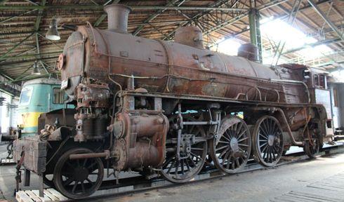 Schienenfahrzeug-Depot in Chomutov (Foto: Jan Beneš, Archiv des Tschechischen Rundfunks)
