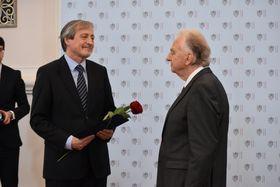 Hartmut Binder (rechts). Foto: Ondřej Tomšů
