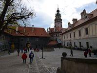 Schloss Český Krumlov (Foto: Ondřej Tomšů)
