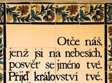 Notre Père qui es aux Cieux..., photo: Ondřej Žváček, CC BY-SA 3.0