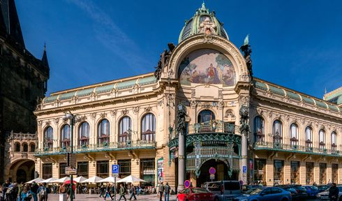 Municipal house in Prague, photo: Thomas Ledl, CC BY-SA 4.0
