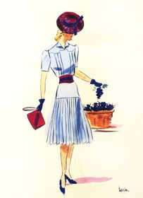 Sketch by Lisa Miková, photo: archive of Lisa Miková