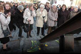 Los padrinos del Holocausto, foto:  Jana Šustová, ČRo