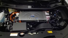Pila de combustible en auto Toyota, foto: archivo de Carlos Fúnez