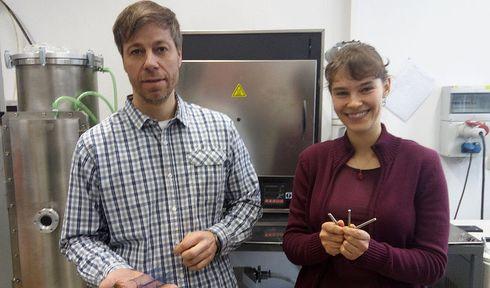 Радим Коцих и Ленка Кунчицка, Фото: Станислав Яналик, Чешское радио