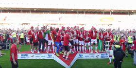 Slavia Prag feiert (Foto: YouTube)