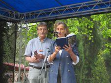 Maria Hammerich-Maier und Jan Řehounek, Foto: Martina Schneibergová