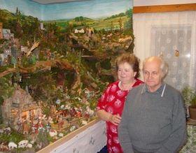 La crèche de la famille Roháček, photo: Site officiel de Spolek přátel betlémů v Třešti