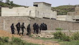L'opération anti-terroriste dans les proches environs de Bamako, Mali, photo: ČTK